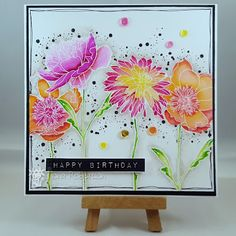 Fi's cards and crafts: Some pretty flowers...                              …