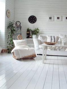 fina vita golv Outdoor Furniture Sets, Outdoor Decor, Shades Of White, Flooring, Room, Design, Home Decor, Style, Google