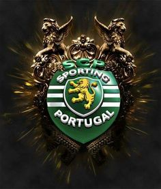 Portugal Football Team, Portugal Soccer, Sport C, Best Club, Green And Gold, Album, Sports Logos, Asdf, Crests