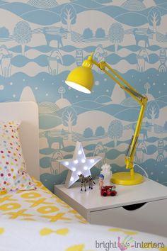Bright bold boys room by Bright Kids Interiors