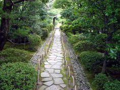 Japanese Gardens, Elements Of Design, Tea Ceremony, Stepping Stones, Paths, Sidewalk, Stair Risers, Side Walkway, Walkway