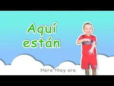 ¿Dónde Están las Partes del Cuerpo? Spanish Body Parts Song for Moving and Dancing!! - YouTube
