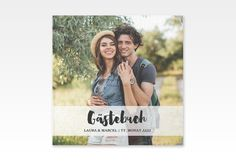 """Gästebuch Selection Hochzeit """"Mirage"""" Hardcover weiss"""