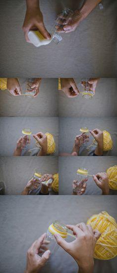 garrafas coloridas — Lápis de Noiva l Blog de Casamento