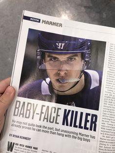 Hot Hockey Players, Nhl Players, Ice Hockey, Maple Leafs Wallpaper, Hockey Memes, Funny Hockey, Mitch Marner, Maple Leafs Hockey, Hockey Girls