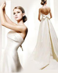 galamode.fr - Robe de Mariée Chic Simple Formel Sans Manches(#weddingdress)