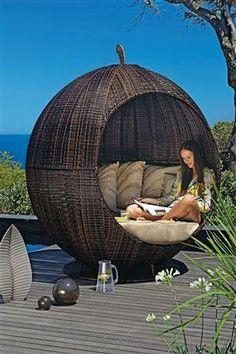 Outdoor Pod #iffygarden  #garden #garden ideas