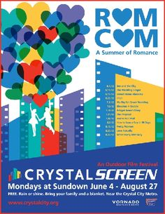 Crystal Screen: Rom Com | Crystal City BID | Arlington, VA