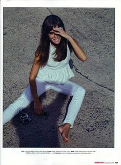 Jodi Gordon channels Jane Birkin - As seen in Cosmopolitan