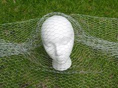 How to Make Chicken Wire Ghosts   eHow Chicken Wire Art, Chicken Wire Sculpture, Chicken Wire Crafts, Wire Art Sculpture, Wire Sculptures, Abstract Sculpture, Bronze Sculpture, Human Sculpture, Angel Sculpture