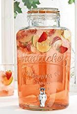 This thanksgiving punch recipe has all the flavors of fall and can be easily made as a cocktail or mocktail. Impress everyone with this fun beverage! Thanksgiving Punch, Holiday Punch, Nantucket, Cold Drinks, Beverages, Glass Beverage Dispenser, Beverage Drink, Drinking Jars, Furniture