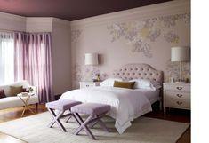 lavender purple beige bedroom sophisticated x bench
