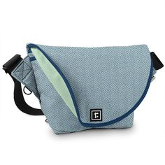 Small Zero Messenger Bag | Performance Tweed™