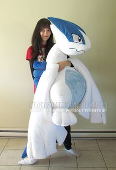 Lugia doesn't look impressed.