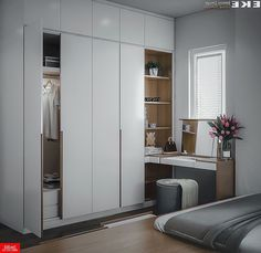 Contemporary # wardrobes # a # built-in . - Contemporary # Wardrobes # a # built-in # S … - Cupboard Design, Closet Design, Home Interior Design, Bedroom Closet Design, House Interior, Girl Bedroom Decor, Home Room Design, Bedroom Interior, Home Office Design