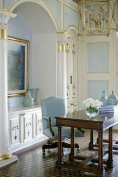 A Touch of Mediterranean | Tobi Farley | Beautiful Living Rooms and Offices