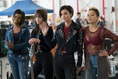 Ruby Rose, Hannah Fairlight, Andy Allo, and Venzella Joy in Pitch Perfect 3 Watch Pitch Perfect, John Michael Higgins, Rubin Rose, Anna Camp, Rebel Wilson, Face Off, Gossip Girl, In Hollywood, Girl Crushes