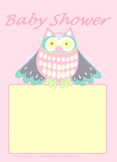 Free baby shower invite printable #baby #babyshowerinvite