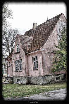 Old house. Parnu. Estonia. May 2011.