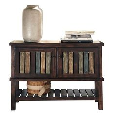 Mestler Console Rustic Brown - Signature Design by Ashley : Target