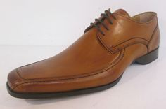 Mens Loake tan leather lace up shoe F fitting 1369T