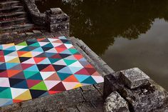 sur mesure / bespoke - Minakani Lab MINAKANI is a Paris based textile design studio and a brand created in 2005 by Cécile Figuette and Frédéric Bonnin