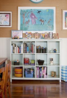 Annette Tatum Cubby Storage System #kids #playroom #storage