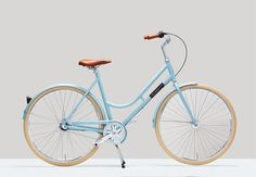 The Robyn-Havana Blue is a classic beauty, with it's step-through frame and 3 gears it will take you wherever you need to go in style, available for 469!