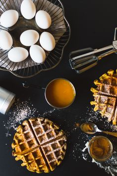 Gaufre à la citrouille Bon Dessert, Healthy Snacks, Healthy Recipes, Lunch To Go, Fodmap Recipes, Cooking Chef, Fall Treats, Low Fodmap, Vegetable Recipes