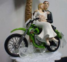 Plastic Dirt Bike Cake Toppers