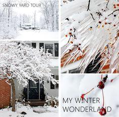 My Winter Wonderland yard tour