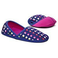 BUILT Fold and Go Travel Slippers Dot No. 9 Size Small