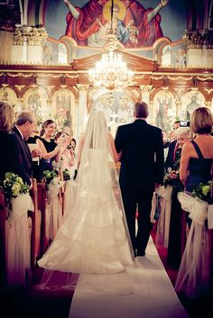 Wedding photograph at Annunciation Greek Orthodox Cathedral, Chicago, IL. May 15, 2010 by Andrew Collings Photography, via Flickr
