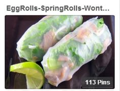 Egg Rolls_Spring Rolls_Wontons (Crispy)_Fried Pot Stickers_Rangoons | Singing Pines Pinterest Boards for all your Asian needs / http://www.pinterest.com/singingpines