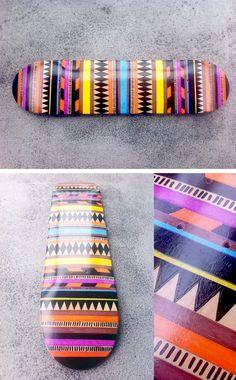 Hand Painted Skateboards - Jamie Tao