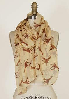 Giraffe Scarf in Beige - $14.99 : Spotted Moth, Chic and sweet clothing and accessories for women ($1-20) - Svpply