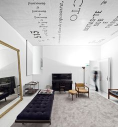 mirror, interior design, text, boutique hotels, architectural photography, design trends, ceilings, portugal, concrete furniture