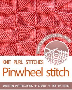 For a light weight, hassle free knitting experience use bamboo knitting needles. Rib Stitch Knitting, Loom Knitting Stitches, Easy Knitting Patterns, Knitting Projects, Stitch Patterns, Crochet Patterns, Knitting Kits, Knit Dishcloth, Tutorials