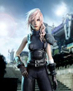 Lightning (Cloud Outfit) by ceriselightning on deviantART