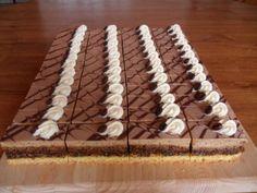 Myslíme si, že by sa vám mohli páčiť tieto piny - sbel Baking Recipes, Dessert Recipes, Desserts, Czech Recipes, Cake Bars, Nutella, Cheesecake, Food And Drink, Pie