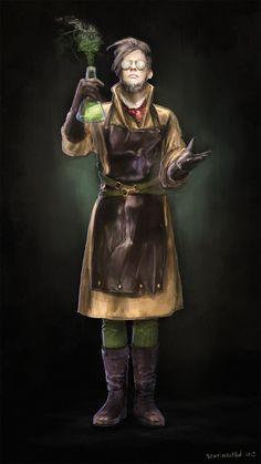 ArtStation - Mad scientist, Ksenia Sentimenthol Galushkina