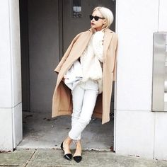 The Haute Pursuit Camel and White
