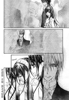 Vampire Knight 54 Page 9 holy sh*t I was totally freaking out when I was reading this for the first time
