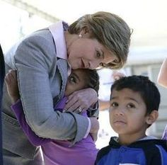 """We can overcome evil with greater good."" Laura Bush"