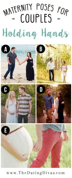 Cute maternity Poses for Couples