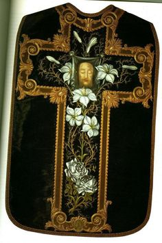 chasuble made by St. Therese