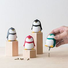 Because your love for penguins is year-round, unlike those Christmastime posers. Penguin Love, Cute Penguins, Gifts For Teen Boys, Gifts For Teens, Old And Teen, Toy Craft, Clay Tutorials, Usb Flash Drive, Gadgets