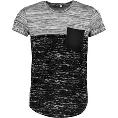 Boohoo Space Panel Pocket T Shirt | Boohoo ($16) ❤ liked on Polyvore featuring men's fashion, men's clothing, men's shirts, men's t-shirts, shirts, male clothes, men, tops, mens pocket t shirts and mens cotton shirts