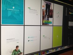 Clarion Institute Brand Boards by Fallback Media  Up working on some #branding for @clarionins. They absolutely love the #identity and the #creativedirection. #expecting #greatthings from this #brand. @fallbackmd #clarioninstitute #clarion #clearfoundation #brandboard #brandstrategy #fallbackmedia #brandidentity #designerlife
