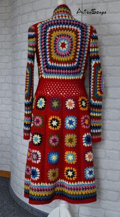 194 Besten Mantel Häkeln Bilder Auf Pinterest Yarns Crochet Coat